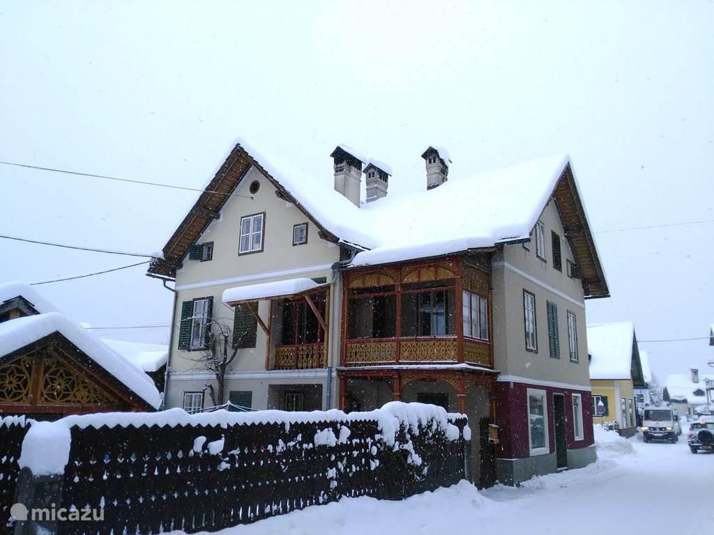 Vakantiehuis Oostenrijk, Opper-Oostenrijk, Bad Goisern am Hallstättersee Appartement App nabij Hallstatt & Skigebied