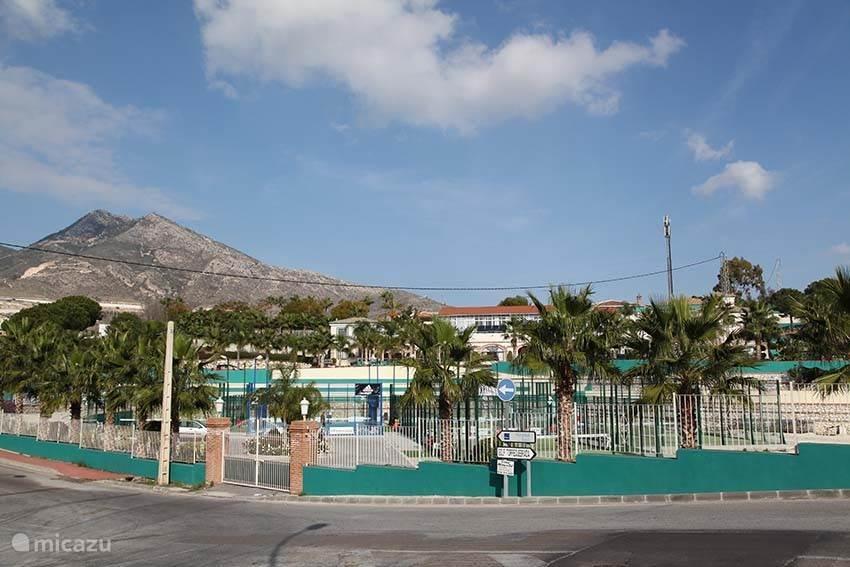 Prachtig tennispark