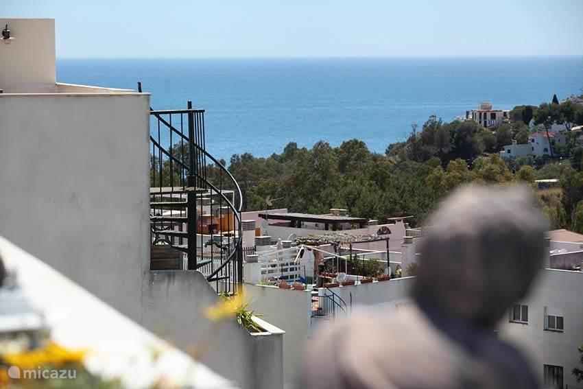 Vakantiehuis Spanje, Costa del Sol, Torrequebrada penthouse Vakantie Penthouse Appartement