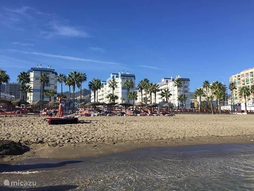 Deze foto is eind oktober gemaakt, nol lekker zwemmen en zonnebaden bij 25 graden