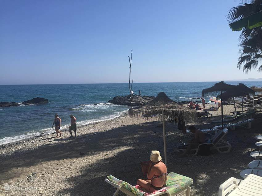 Strand, zee en heel veel zon.