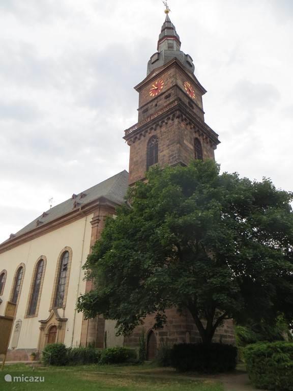Grünstadt centrum, slechts 10 minuten lopen vanuit Huize Wolk