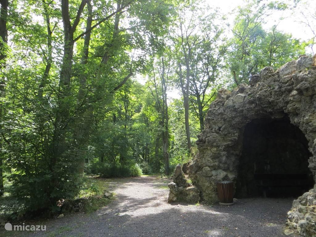 Stadtpark, een mooi park met daar tegenaan bossen. Er liggen ook een aantal mooie geocaches