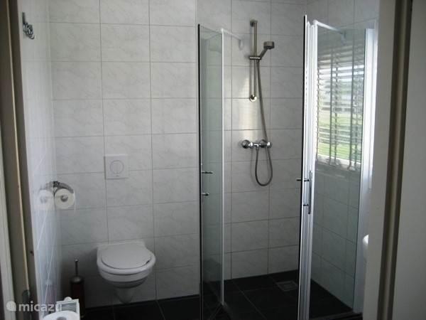 Vakantiehuis Friese meren, de badkamer.