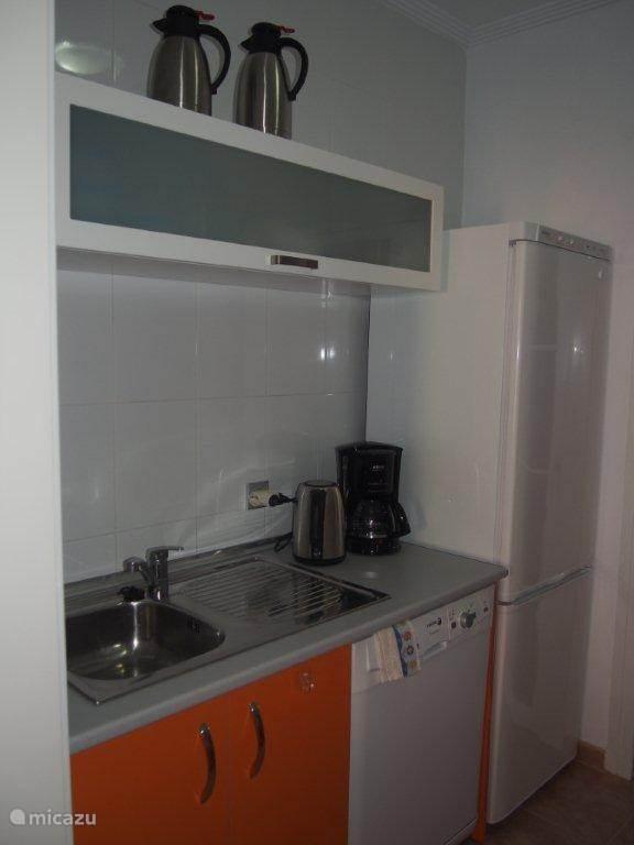 Linker gedeelte van de keuken