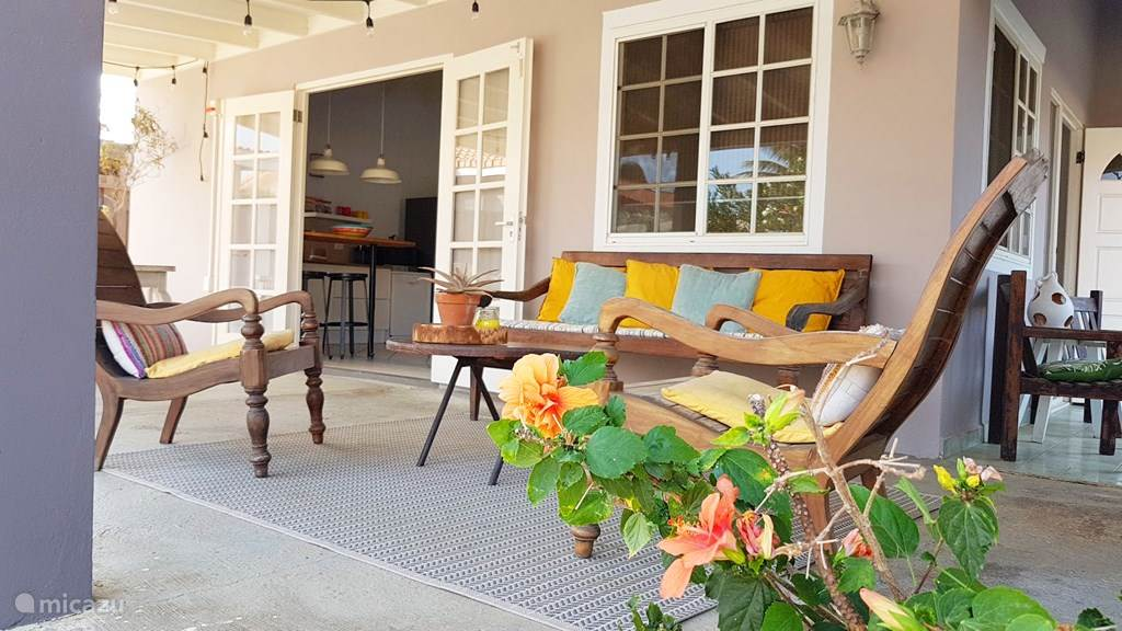 Vakantiehuis Aruba, Oranjestad, San Barbola Vakantiehuis Cas Barbola, huis met privé zwembad