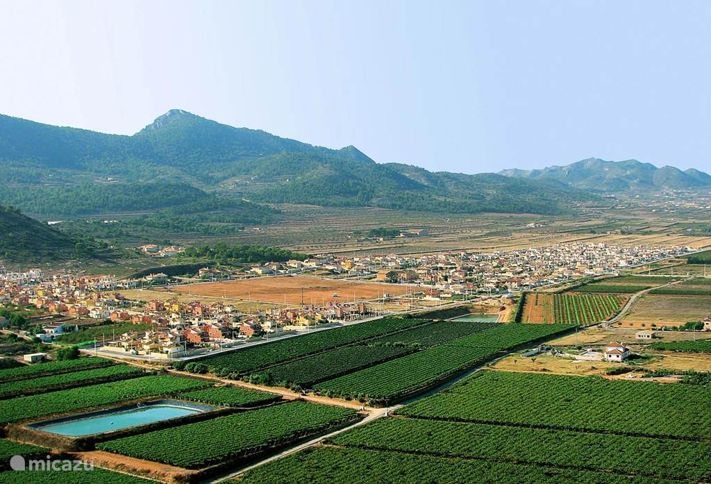 Urbanisatie Montañosa