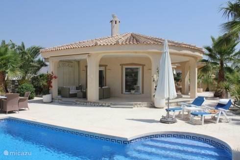 Vakantiehuis Spanje, Costa Blanca, Hondón de las Nieves - villa La Delicia