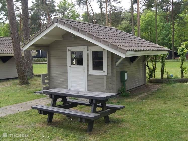Vakantiehuis Nederland, Noord-Brabant, Oisterwijk Blokhut / Lodge Trekkershut Vakantiepark De Reebok