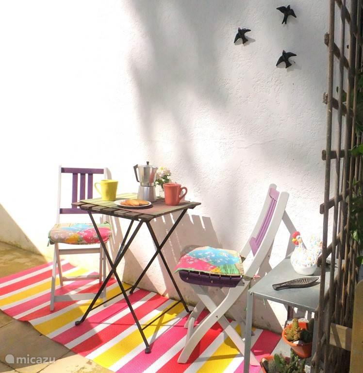 uw patio voor uw deur