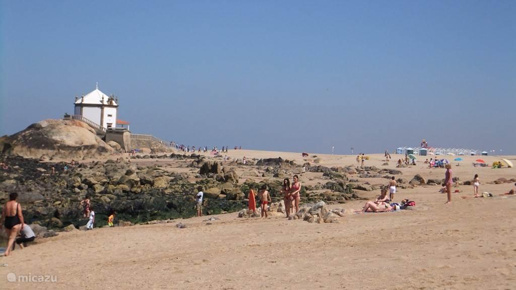 strand Miramar is het mooiste van Porto