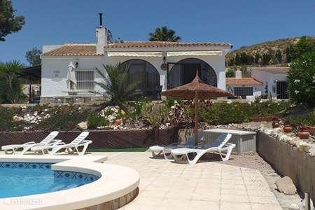 Vakantiehuis Spanje, Costa Blanca, Busot villa Casa de Ensueno