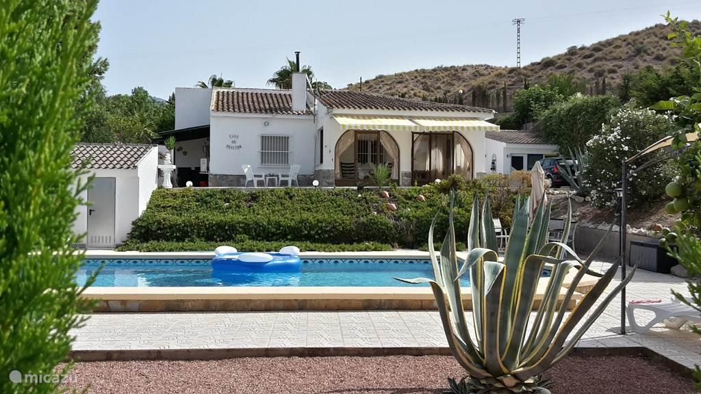 Villa en zwembad