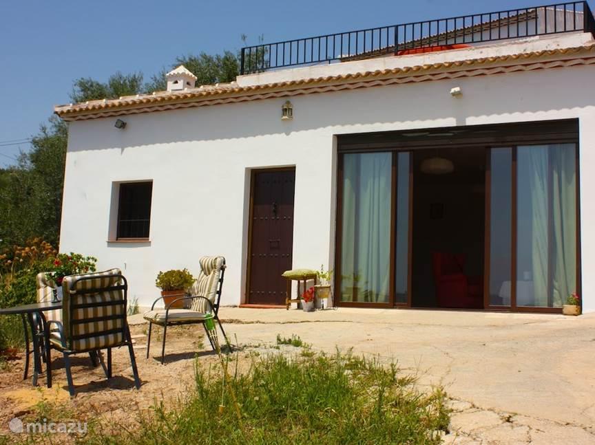 Vakantiehuis Spanje, Andalusië, Mondrón appartement La Casita - Viva la Vida