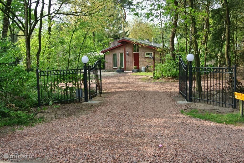Ingang bungalow