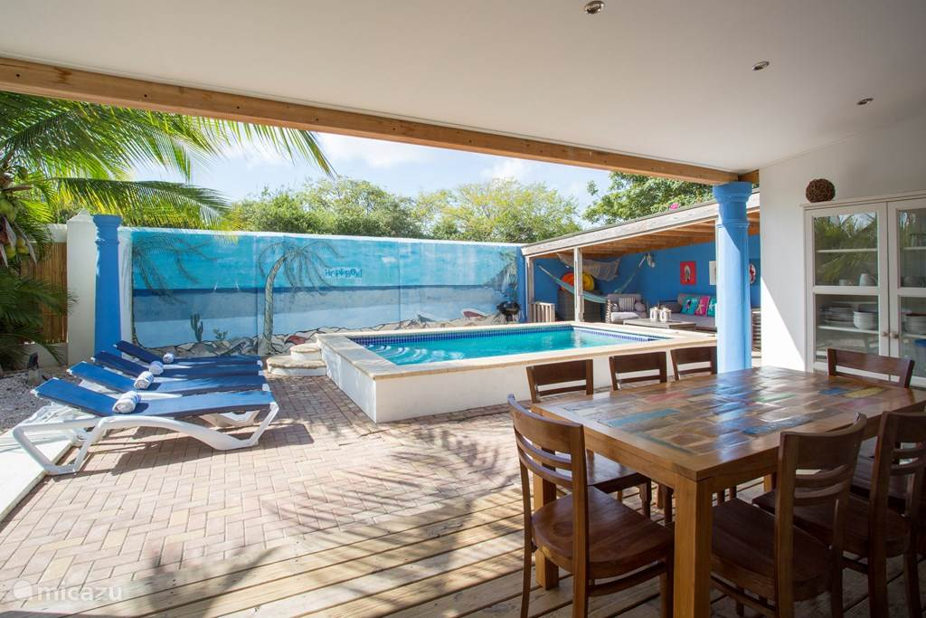 Vacation rental Curaçao, Banda Ariba (East), Cas Grandi Villa Oceanfront villa Laman Blou