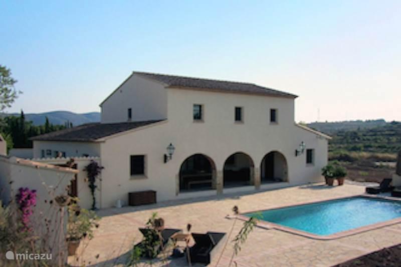 Vakantiehuis Spanje, Costa Blanca, Benissa Villa Finca Pouet de Berdica