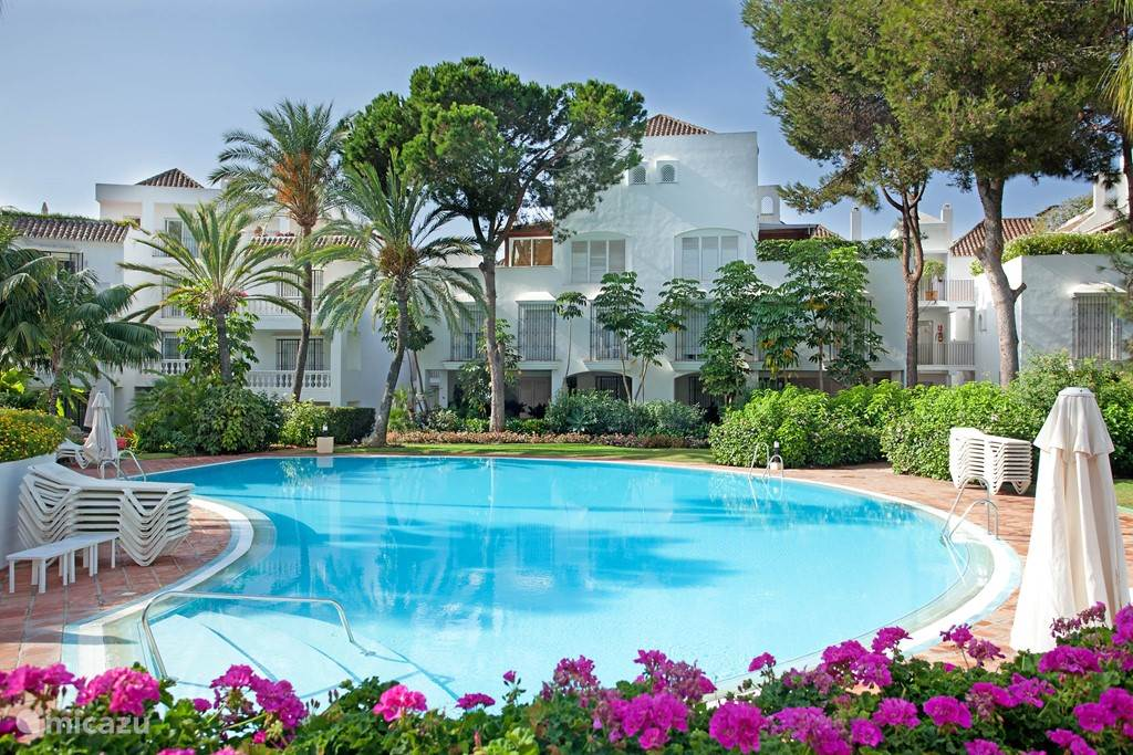 Vakantiehuis Spanje, Costa del Sol, Marbella appartement  Luxe strandappartement Elviria