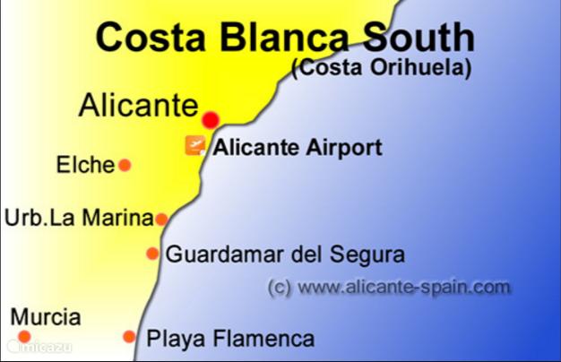Costa Blanca een pareltje!