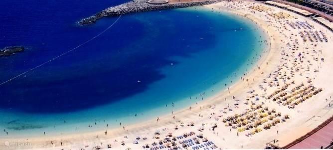 Amadores beach.