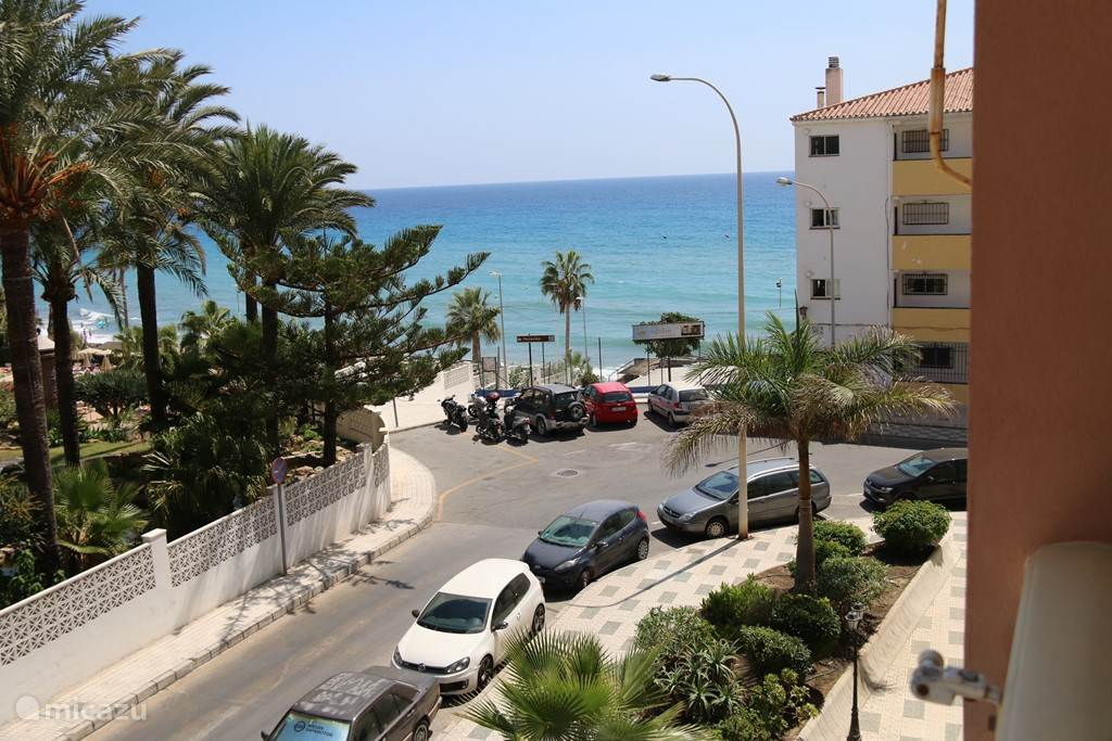 View from balcony with entrance to Torrecilla Playa