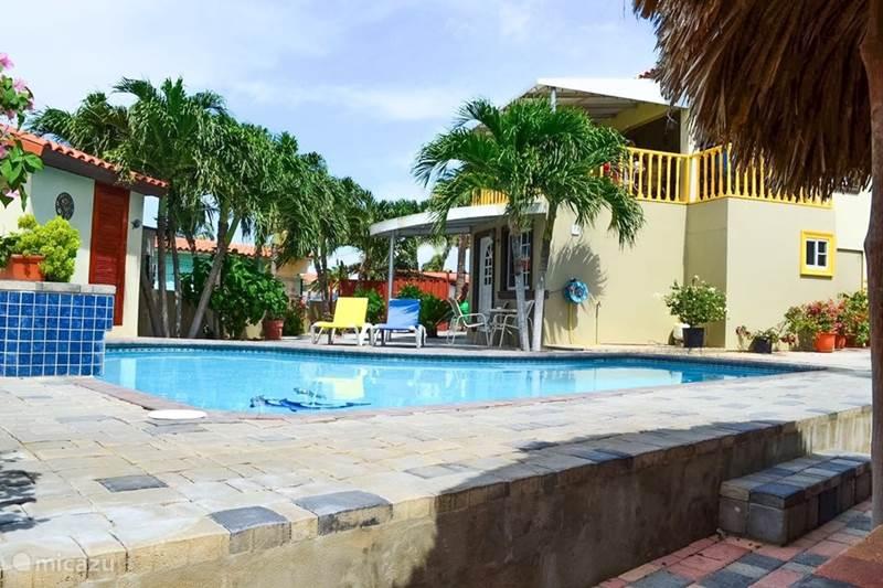 Vacation rental Aruba, Paradera, Paradera Cabin / Lodge La felicidad - Cabaña