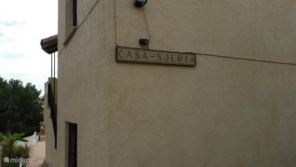 naamplaat huis
