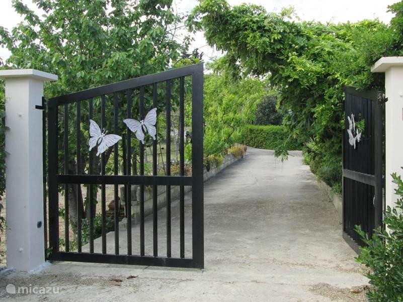 Entree Casa La Farfalla