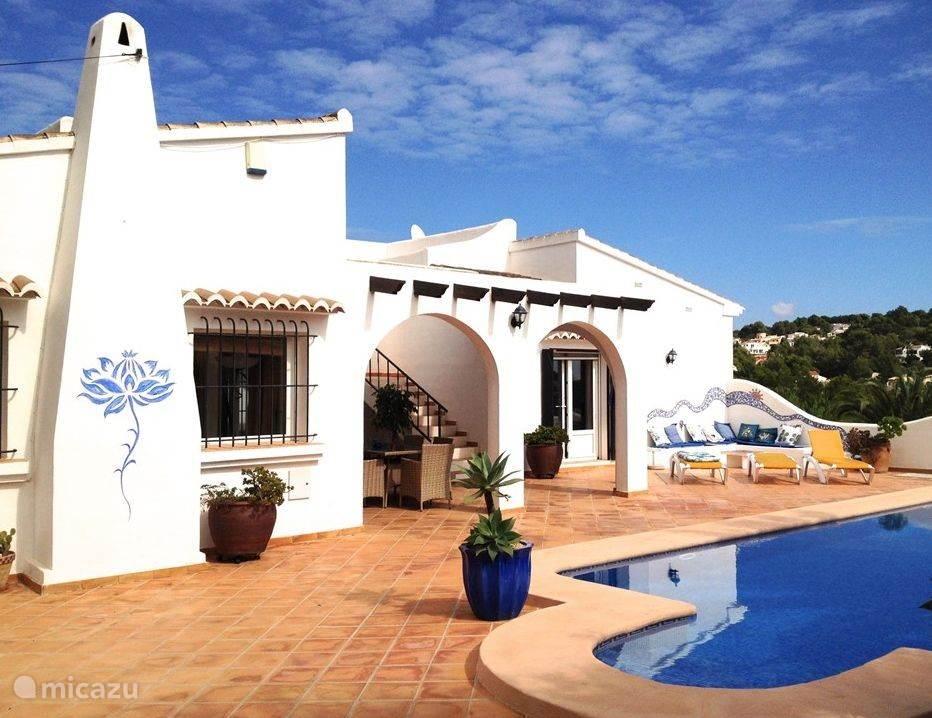 Vakantiehuis Spanje, Costa Blanca, Benissa - villa Villa Colina