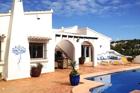 Vacation rental Spain, Costa Blanca, Benissa villa Villa Colina