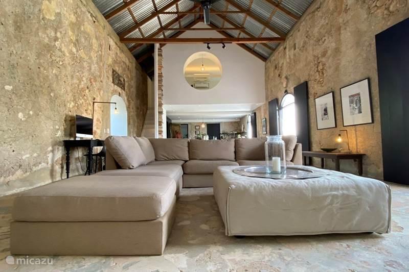 Vakantiehuis Curaçao, Banda Abou (west), Tera Korá Boerderij Landhuis Des Bouvrie Loft