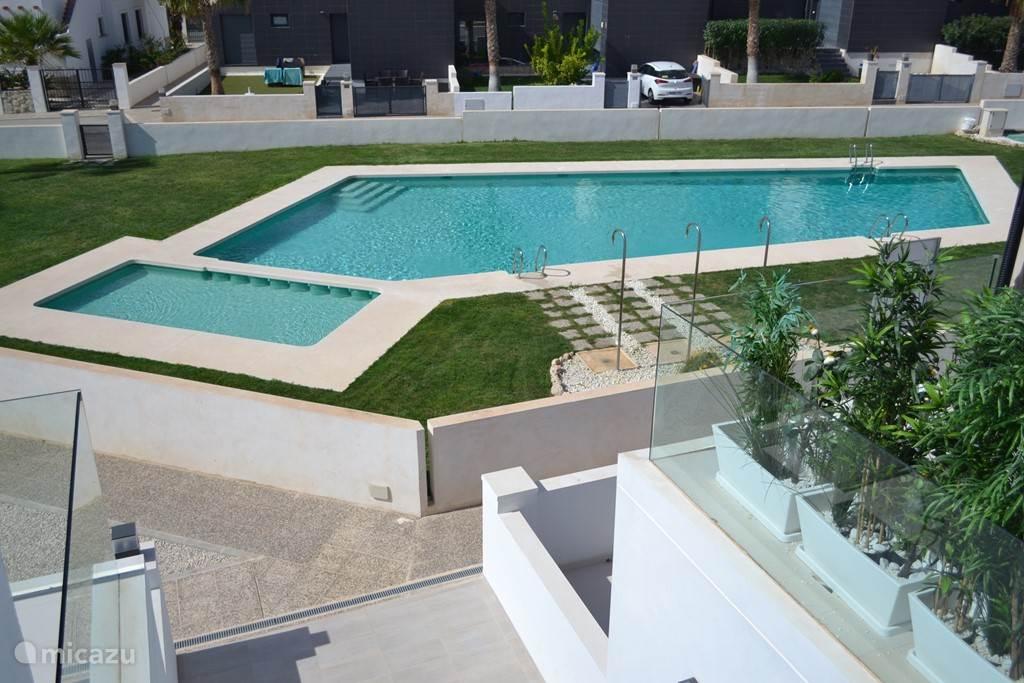 Vakantiehuis Spanje, Costa Blanca, Orihuela Costa - appartement Gelijkvloers appartement met tuin