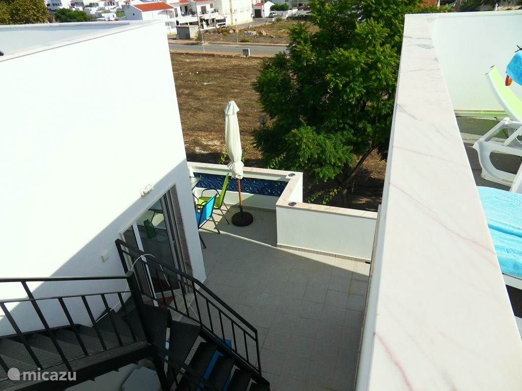 trap naar boven terrassen