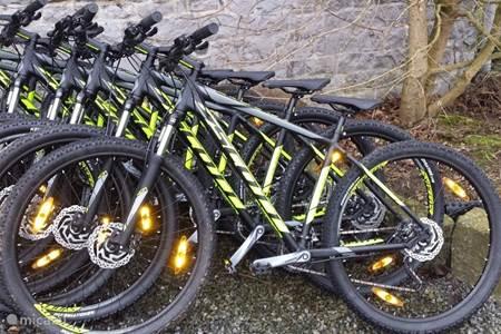 Mountainbike en E-bike verhuur