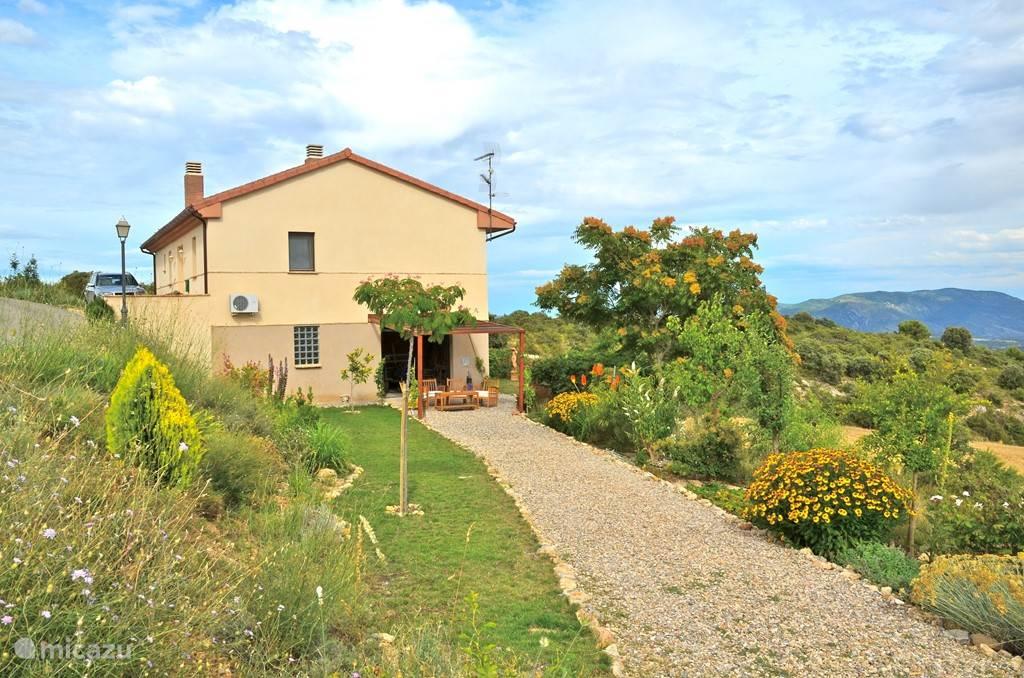 Vakantiehuis Spanje, Aragón, Hoz de Barbastro Vakantiehuis Casa la Buena Suerte