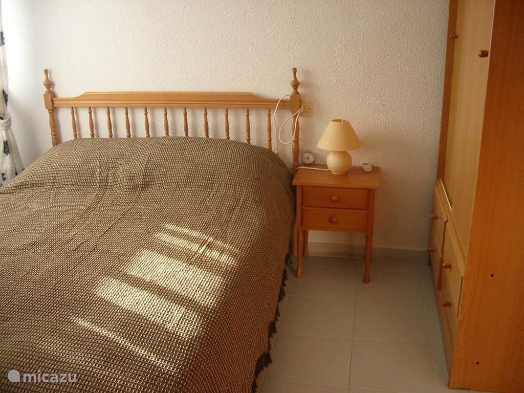 Slaapkamer voor 2 personen.
