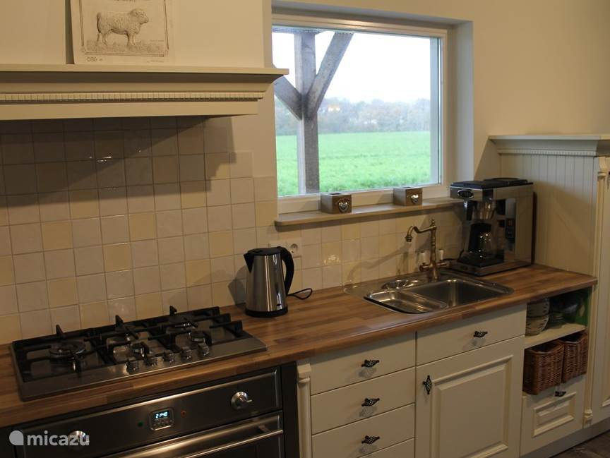Keuken huiskamer