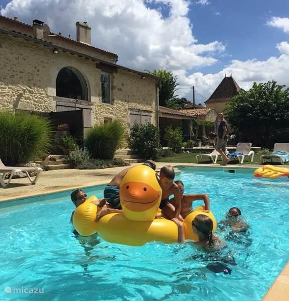 Vakantiehuis Frankrijk, Lot-et-Garonne, Feugarolles Vakantiehuis Les Sapins