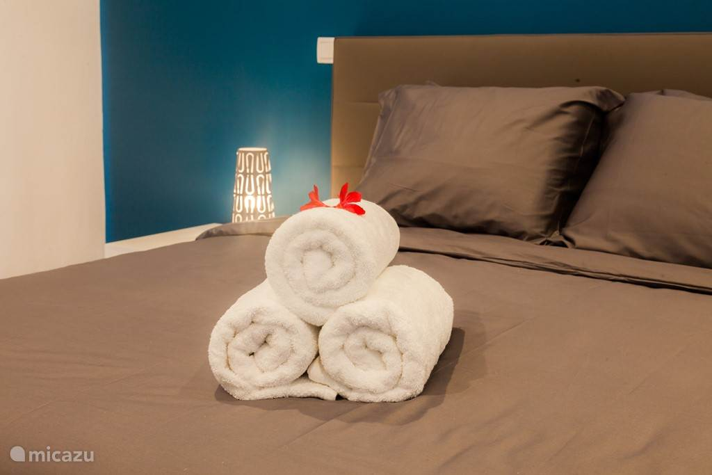 High quality bed linen and towels