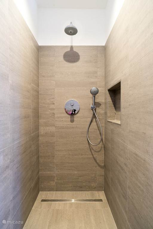 Luxurious walk-in showers