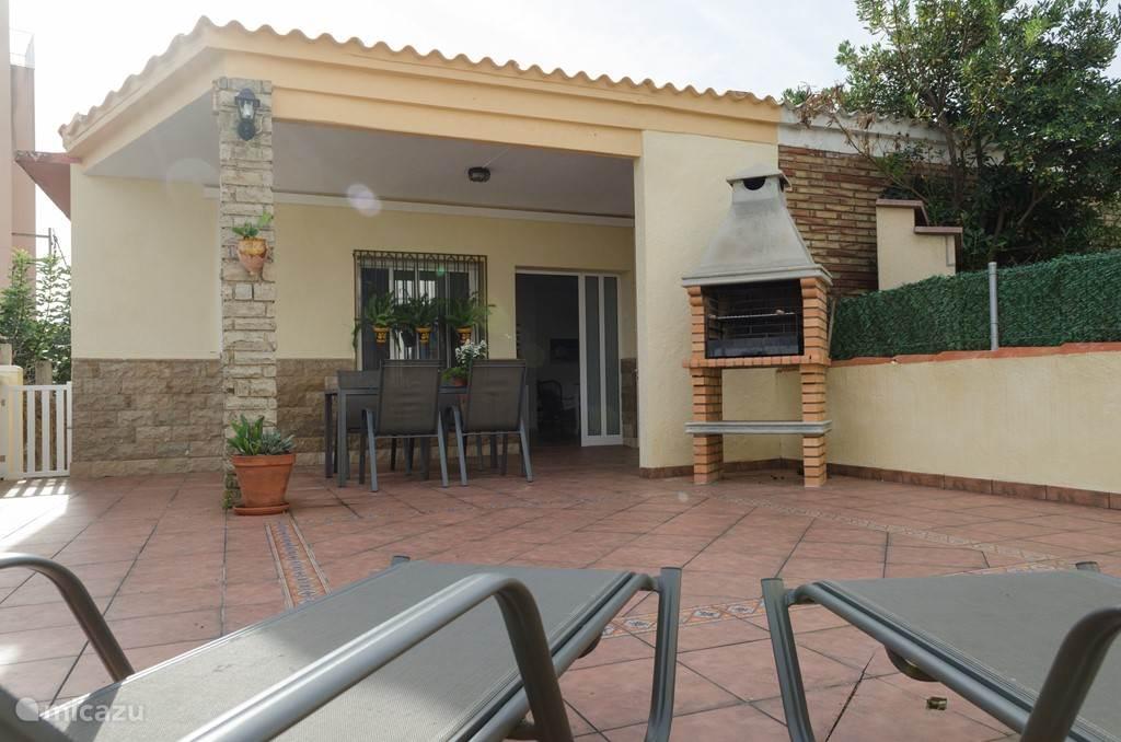 Sportvissen, Spanje, Costa Dorada, Alcanar Playa, bungalow Frisia vacaciones / Joana