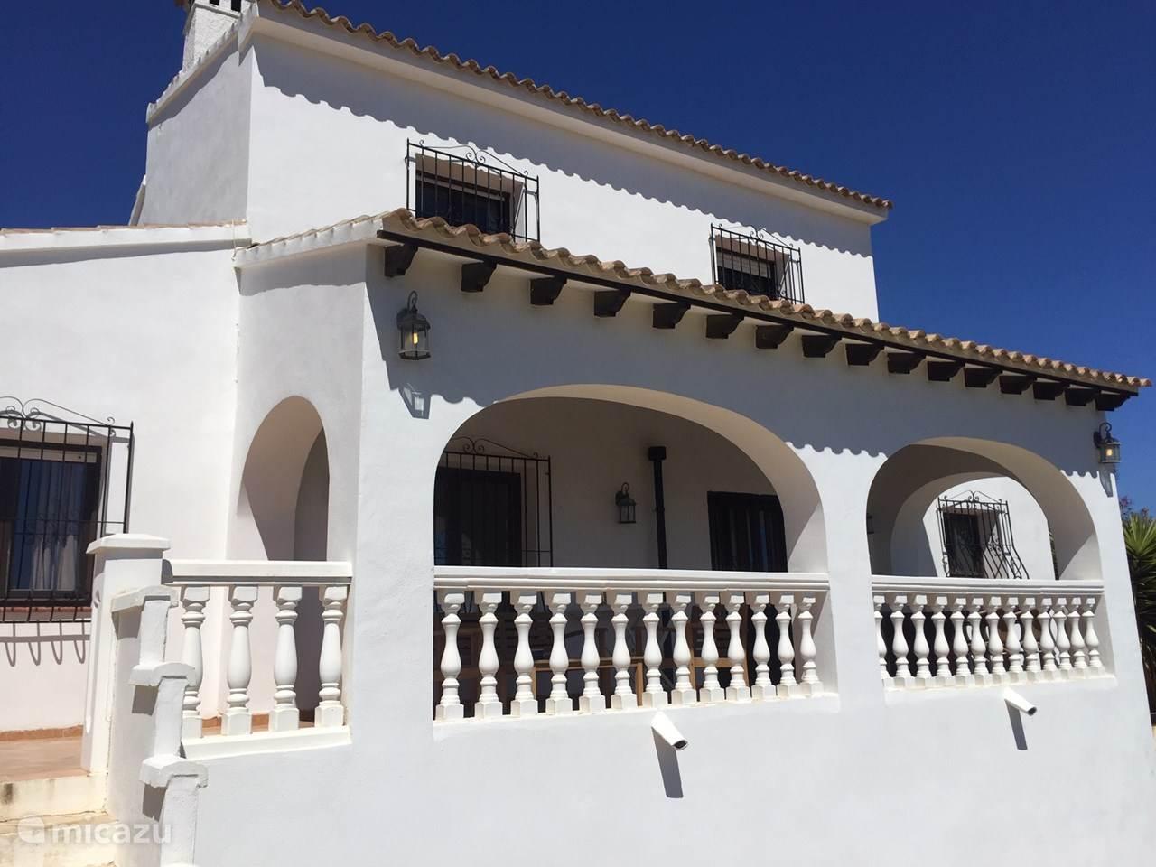 Vacation rental Spain, Costa Blanca, Moraira villa Villa Miranda Moraira