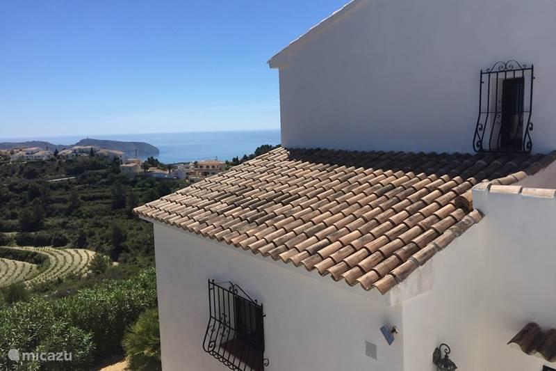 Vakantiehuis Spanje, Costa Blanca, Moraira Villa Villa Panorama+ privezwembad Moraira