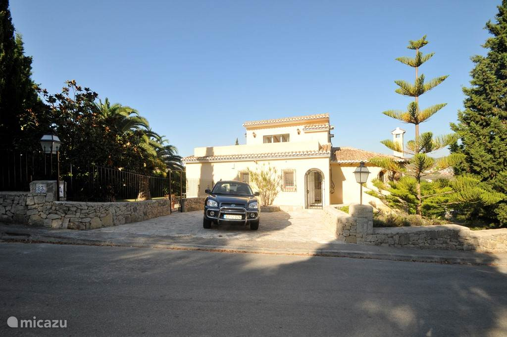 Vakantiehuis Spanje, Costa Blanca, Benitachell Vakantiehuis Casa Verdunia