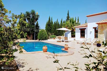 Vacation rental Spain, Costa Blanca, Benissa villa Villa La Casa Blanca