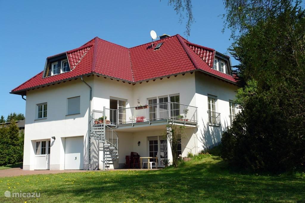 Villa garden side
