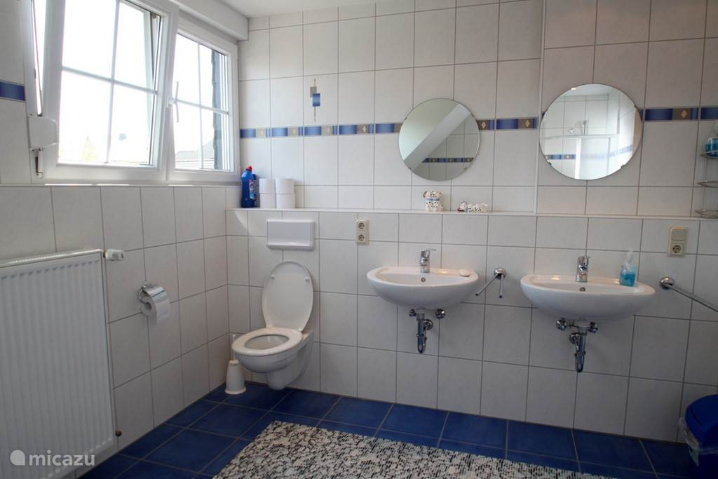 Second portion bathroom