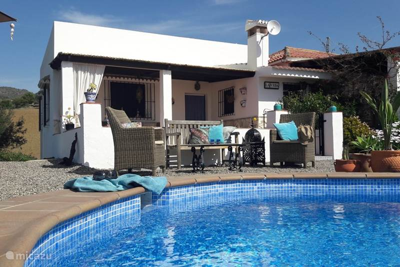 Vakantiehuis Spanje, Andalusië, Álora Geschakelde woning Casa al Cerro, appartement La Vida