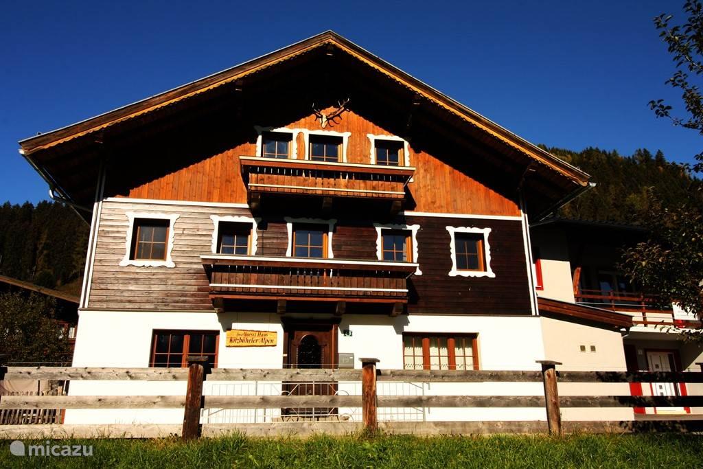 Voor aanzicht  ****Wellness **** Wellness Haus Kitzbüheler Alpen