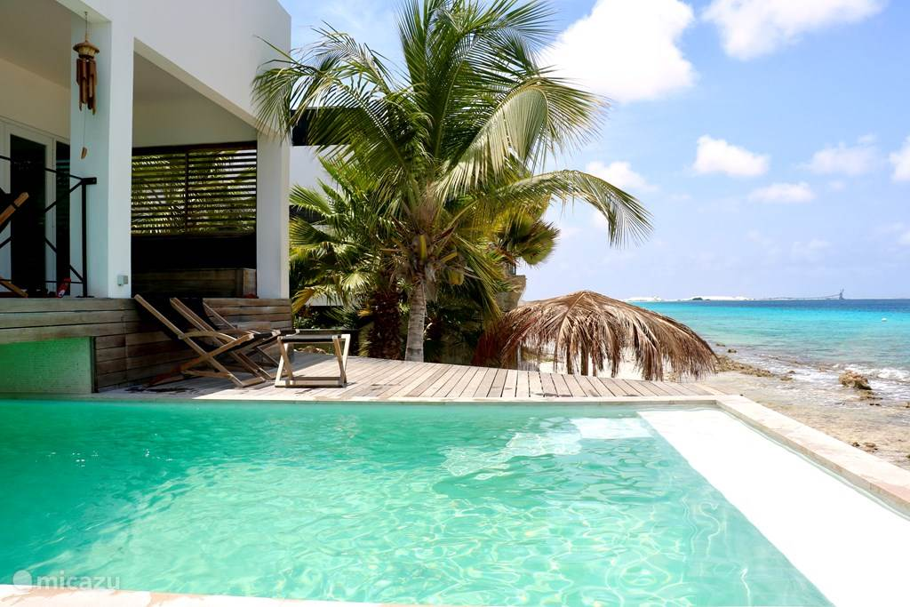 Sunset Beach House Bonaire oceanfront.